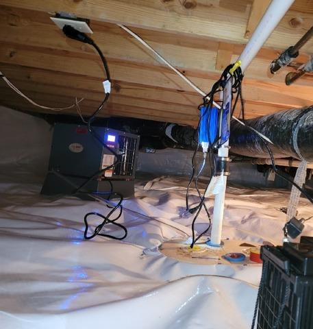 Crawl Space Waterproofing in Fishers, IN