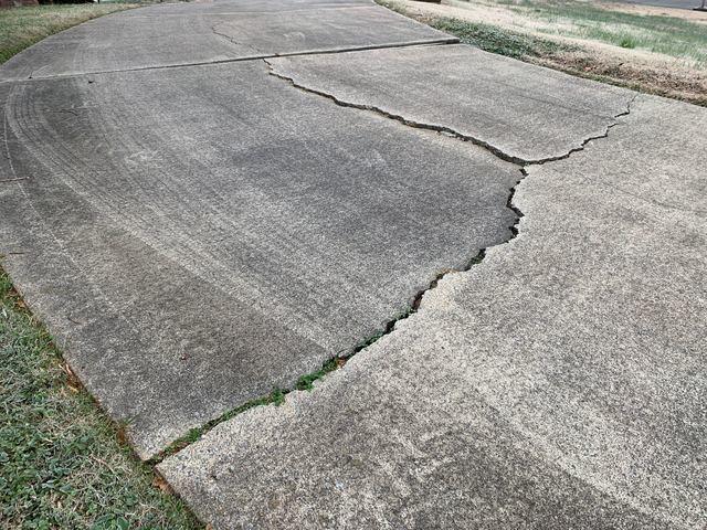 Concrete Driveway Repair in Advance, NC