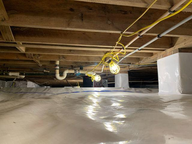 Crawl Space Encapsulation in Stokesdale, NC