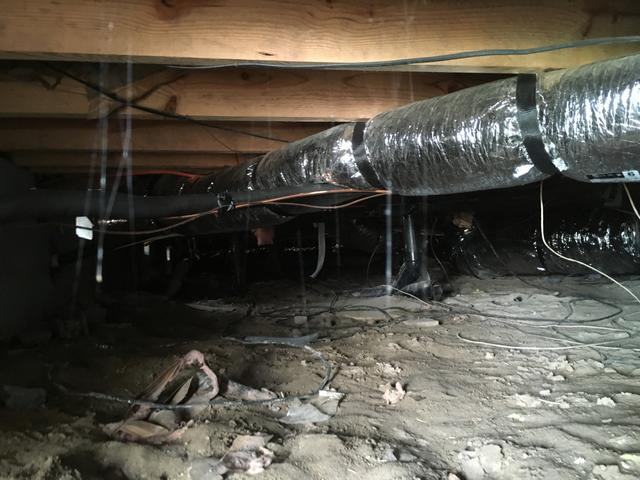 Crawl Space Encapsulation Project in Thomasville, NC
