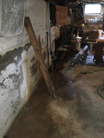 Basement Waterproofing Project in High Point, NC