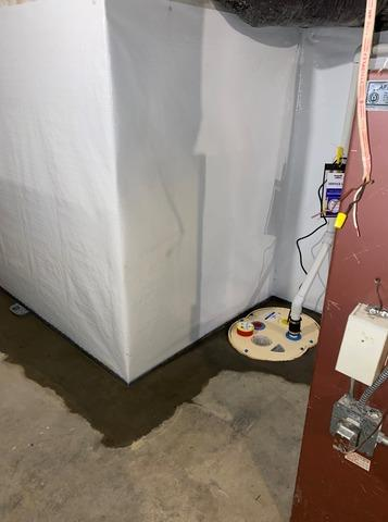 Waterproofing Greensboro, NC Basement with Standing Water