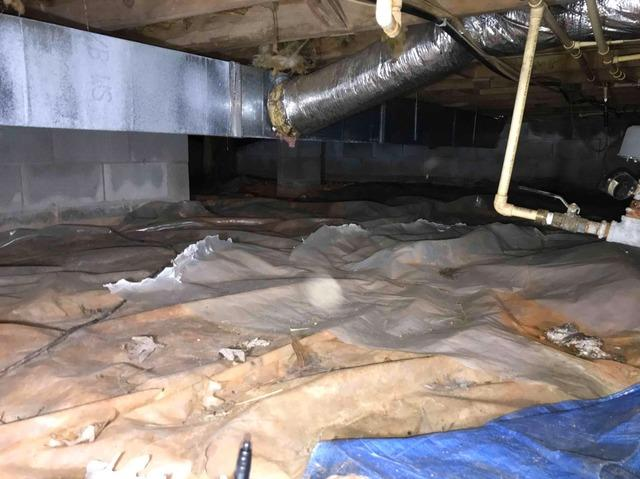 Crawl Space Repair in Boonville, NC