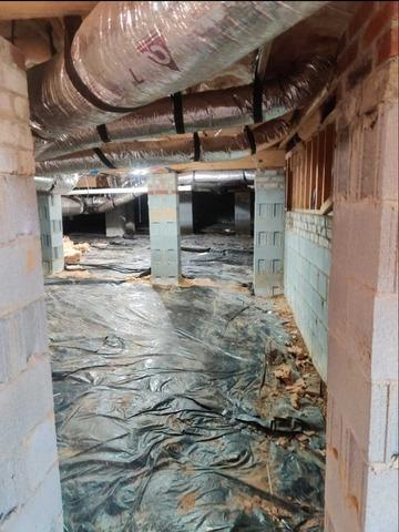 Crawl Space Repair in Whitsett, NC