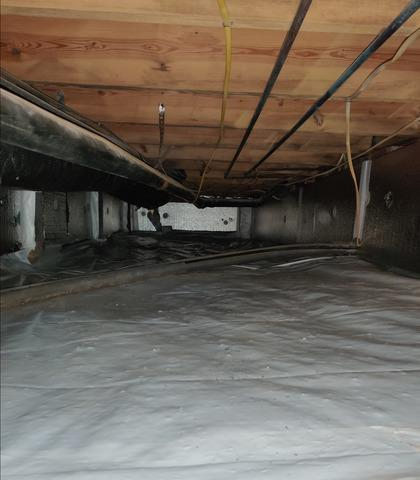 Insulation and Vapor Barrier Installation in Graham, NC Crawl Space