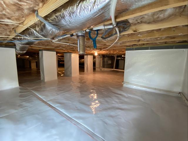 Protecting New Crawl Space from Future Problems in West Jefferson, NC
