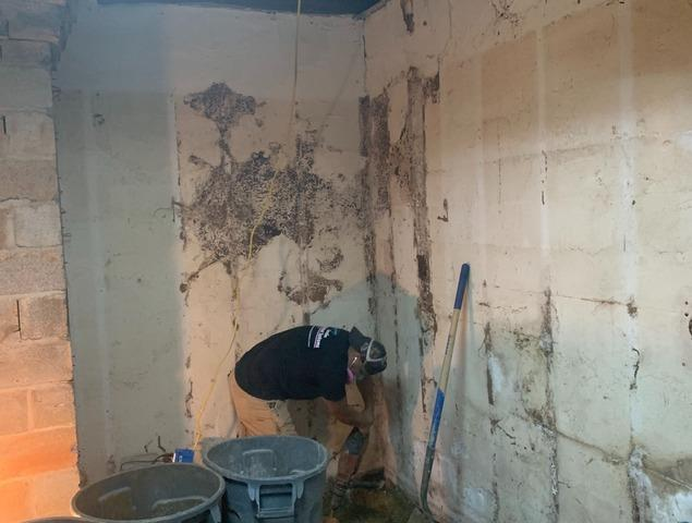 Interior Waterproofing a Damaged Julian, NC Basement