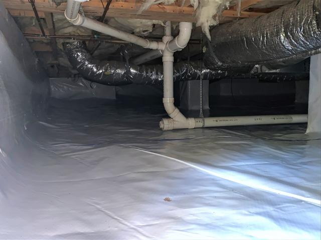 Vapor Barrier Installation in Summerfield, NC Crawl Space