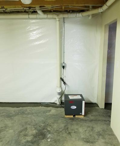 Dehumidifier for Basement Moisture near Low Gap, NC