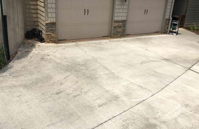 Fixing Cracked Concrete Driveway in Nebo, NC