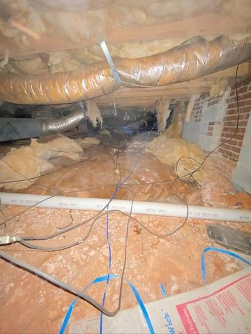 Crawl Space Dehumidification and Repair in Browns Summit, NC