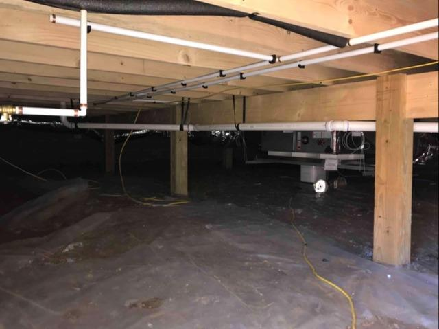 Encapsulating Crawl Space with a Durable Vapor Barrier in Boone, NC