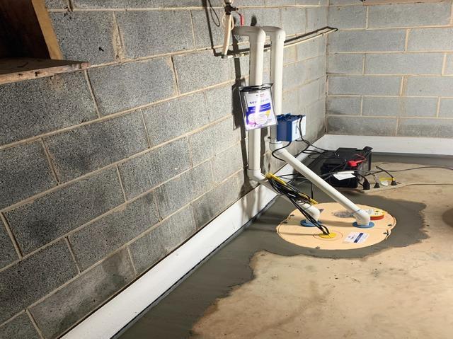 Roaring River, NC Interior Basement Waterproofing