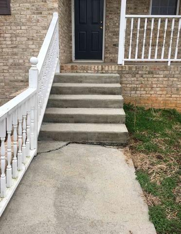 Leveling Concrete Sidewalk near Boomer, NC