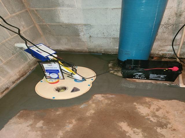 French Drain Basement Waterproofing in Ronda, NC