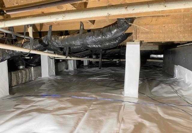 Encapsulating Wet and Messy Graham, NC Crawl Space
