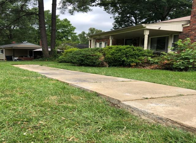 Concrete Walkway Repair and Leveling in Burlington, NC