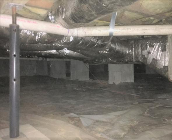 Gibsonville, NC Crawl Space Encapsulation