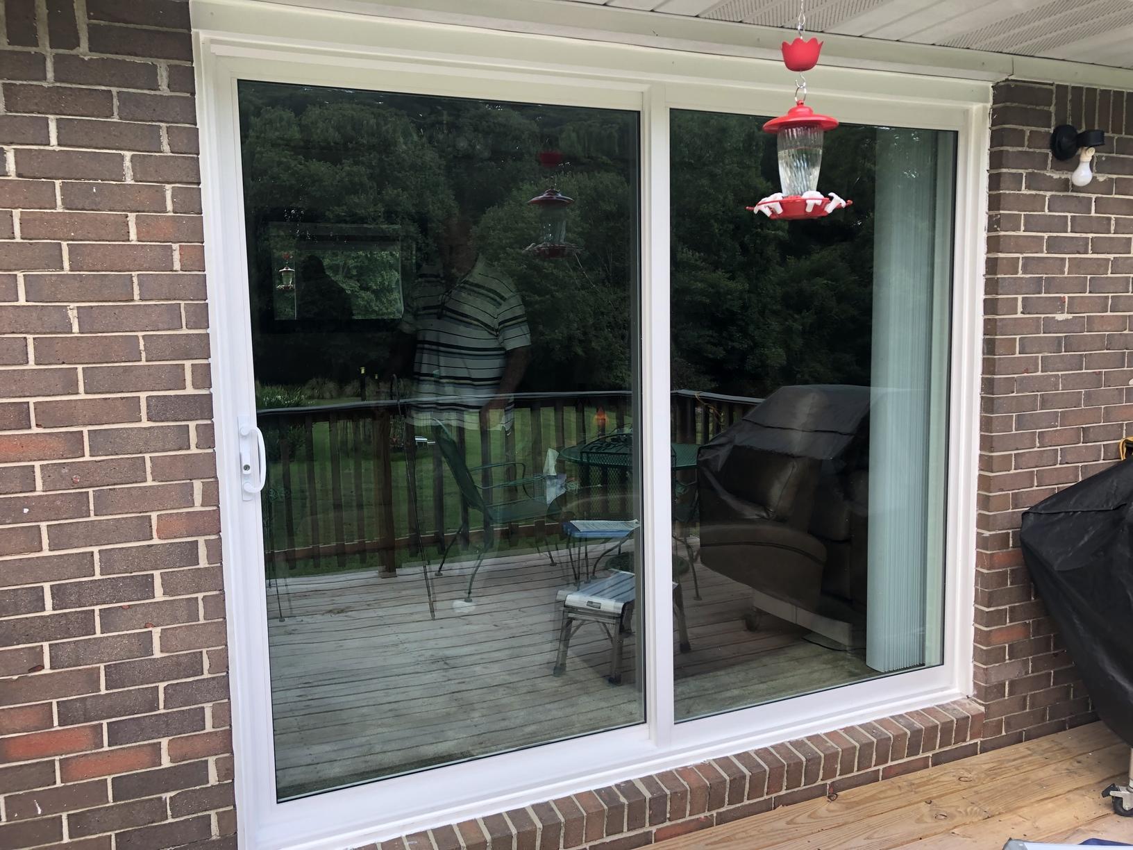 Energy Efficient Sliding Glass Door - After Photo