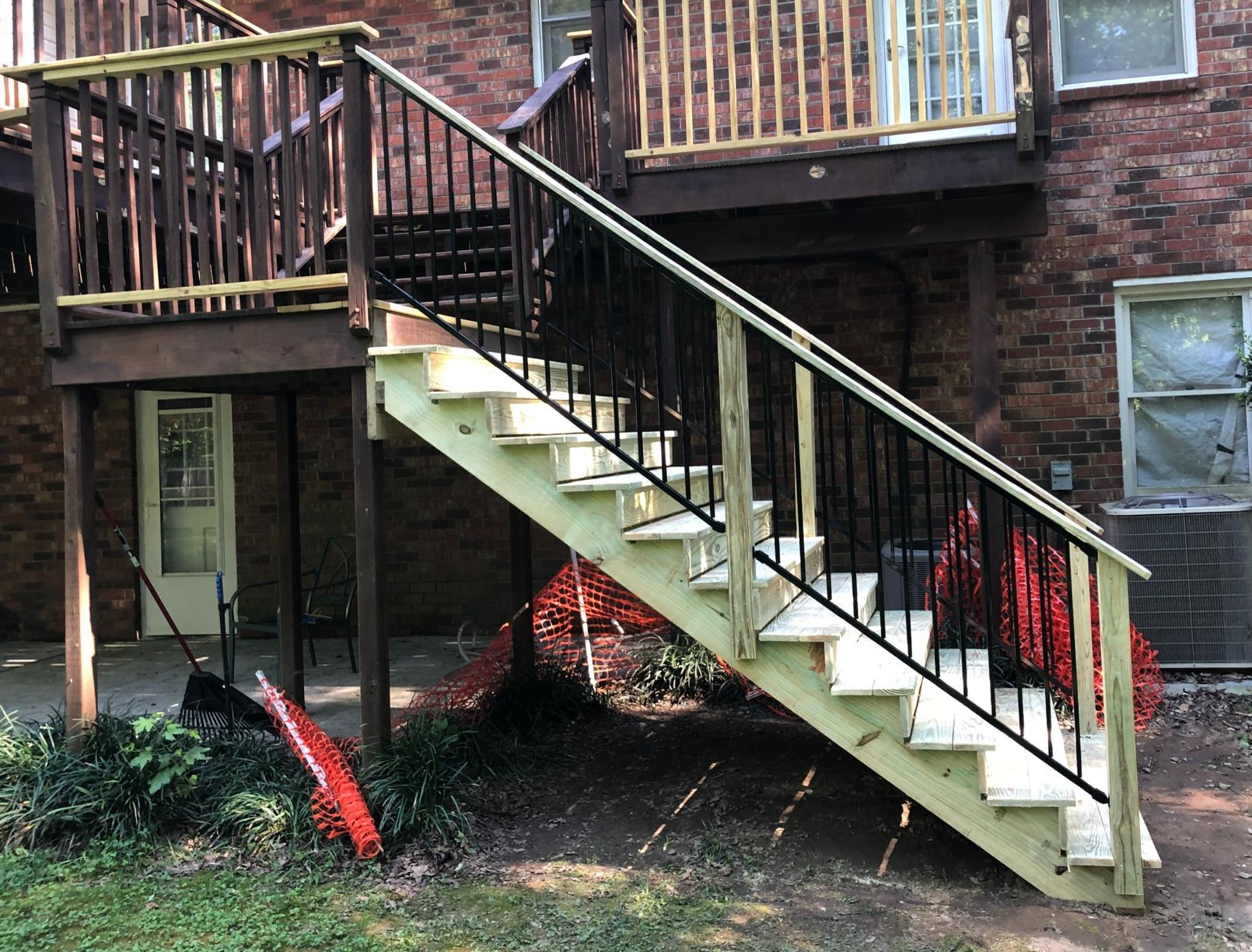 Fortress Hand Rail System - After Photo