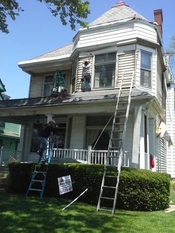 Historical Exterior Renovation in Downtown London, Ohio