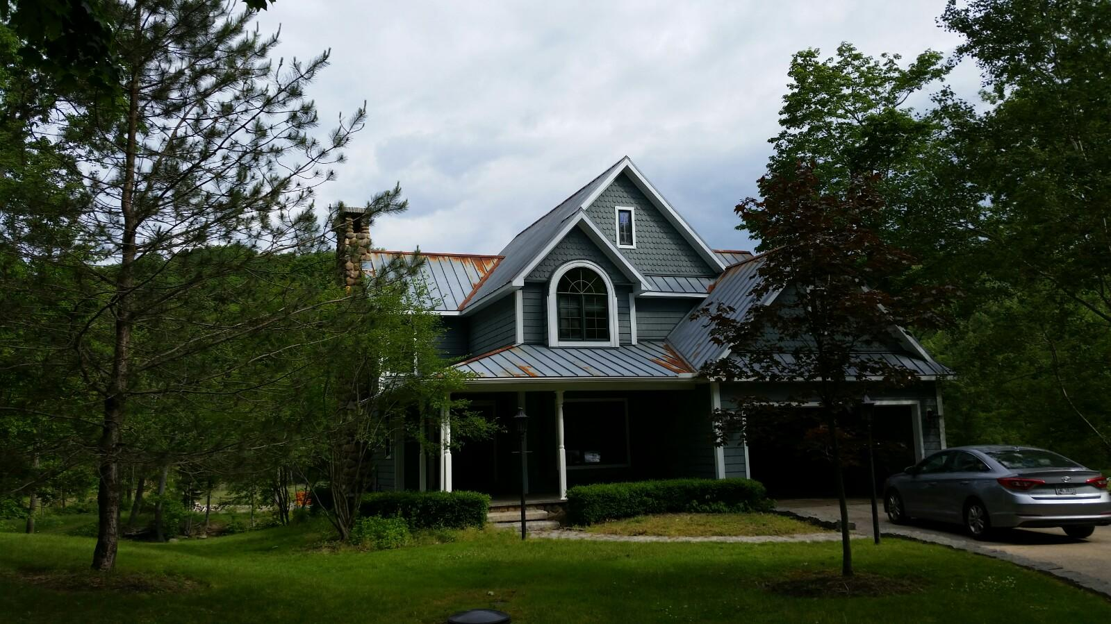 Concord Roof, Soffit & Gutter Replacement - Before Photo