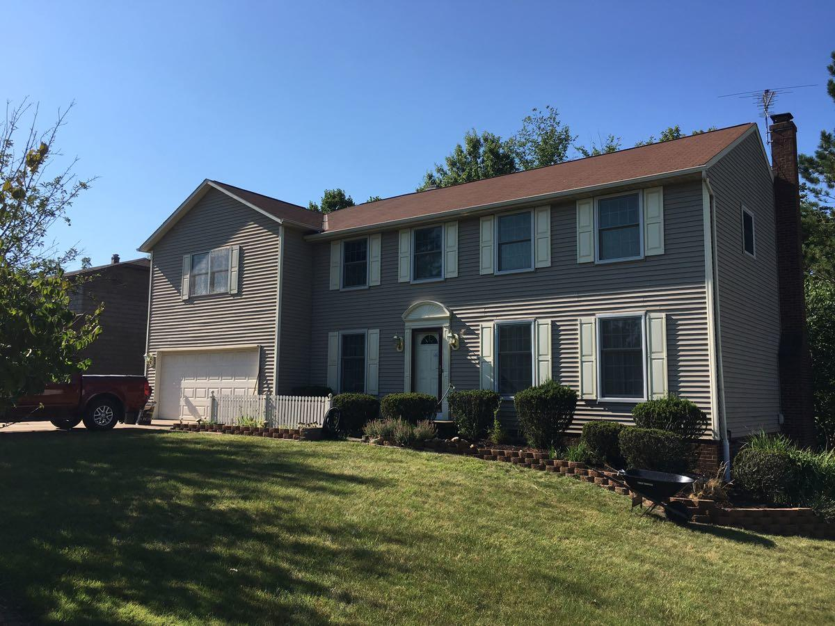 Roofing In North Royalton - Before Photo