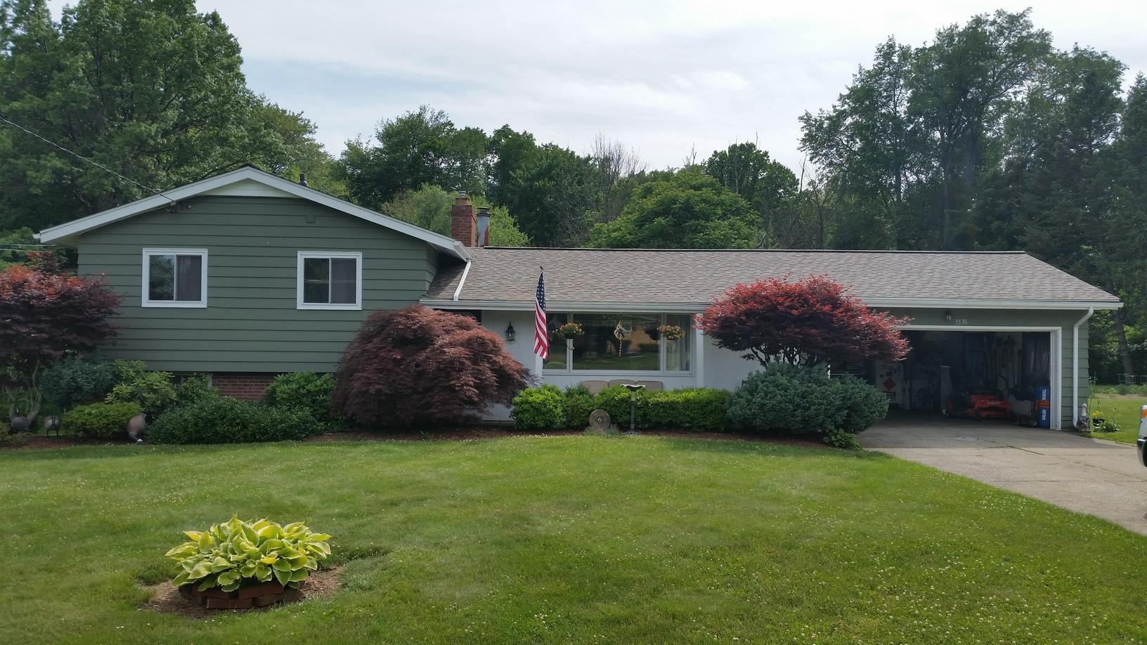 Roof Replacement In Perry Ohio - After Photo