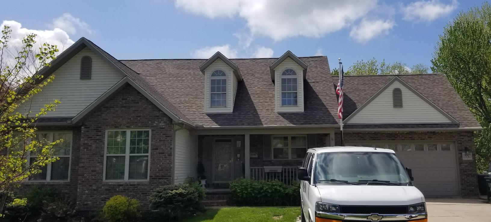 Painesville Township Roof Replacement - Before Photo