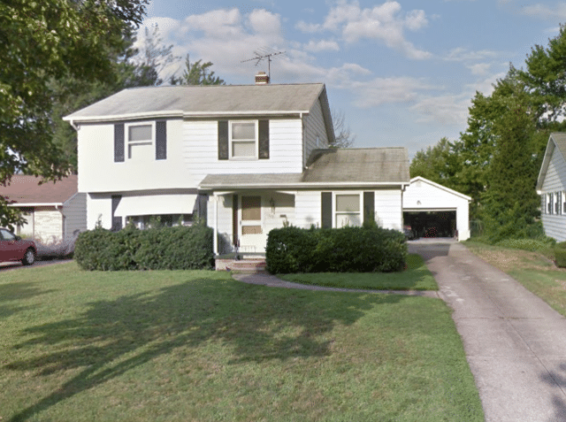 Willoughby Roof Replacement - Before Photo