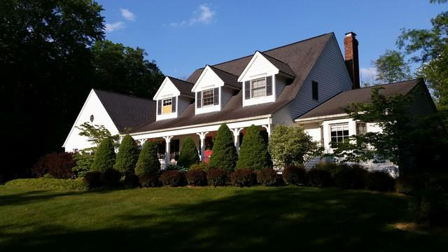 Chesterland Roof & Gutter Replacement - Before Photo