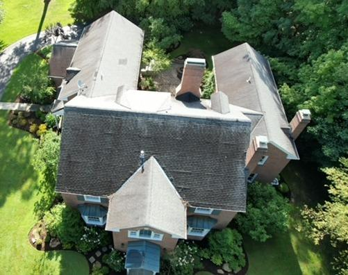 Chagrin Falls Roof Replacement - Before Photo