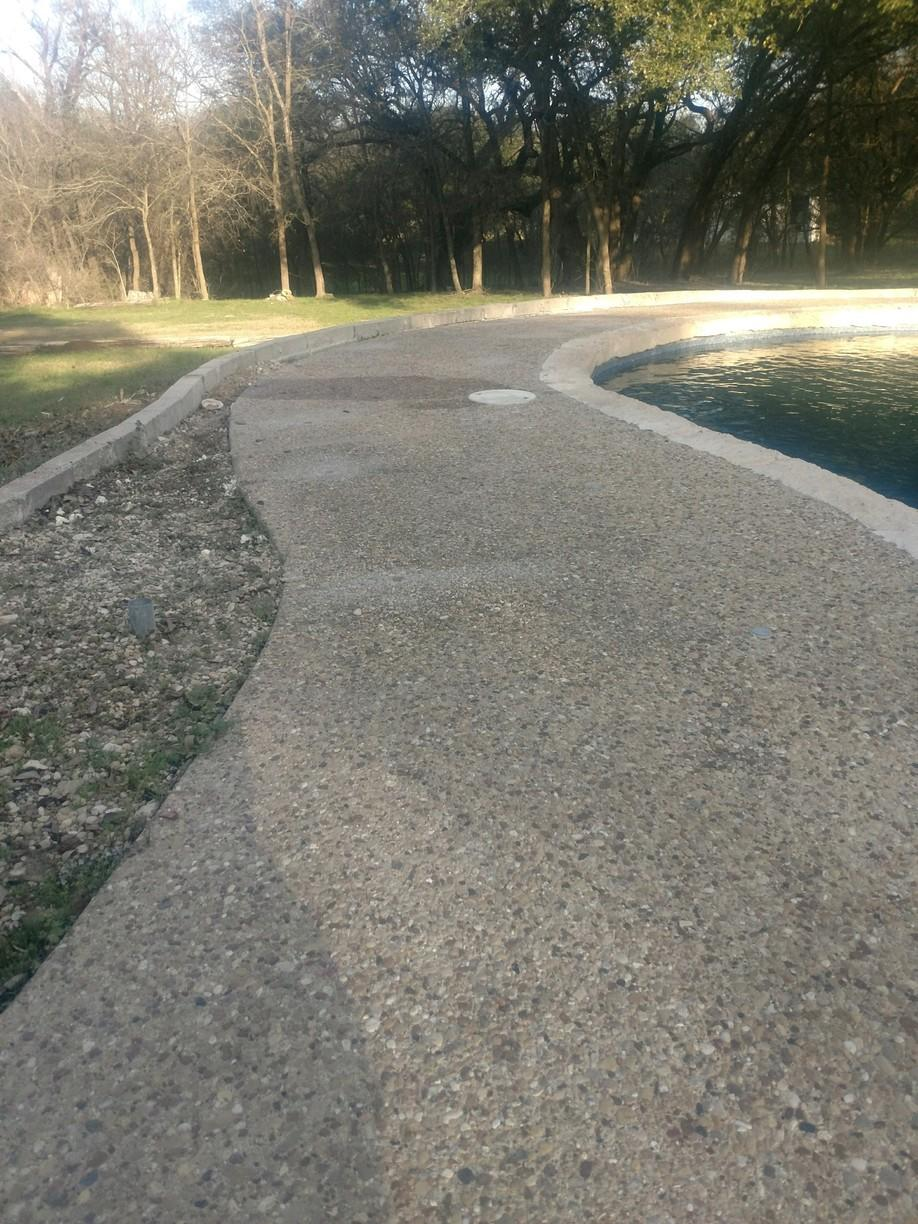 Pool Deck lifting in Temple, TX - After Photo