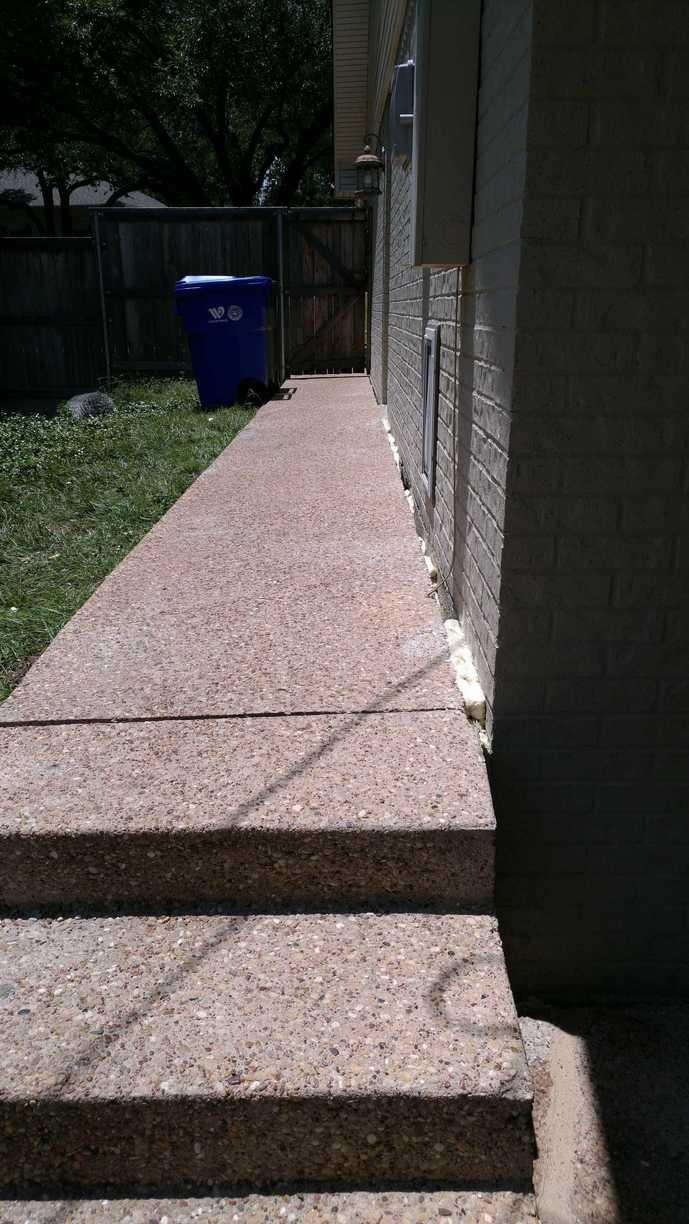 Sidewalk Repair in Waco, TX - After Photo