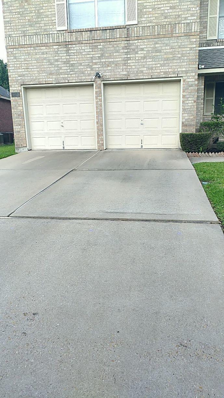 Driveway Repair in Round Rock, TX - Before Photo