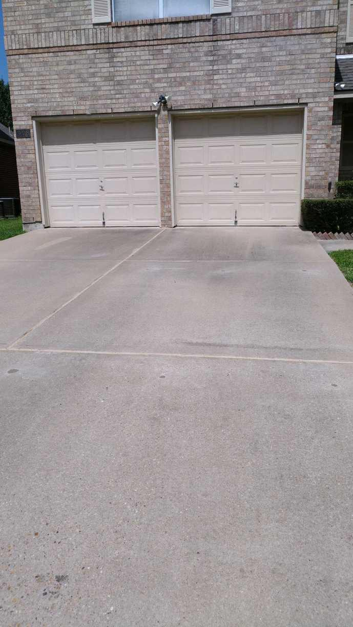 Driveway Repair in Round Rock, TX - After Photo