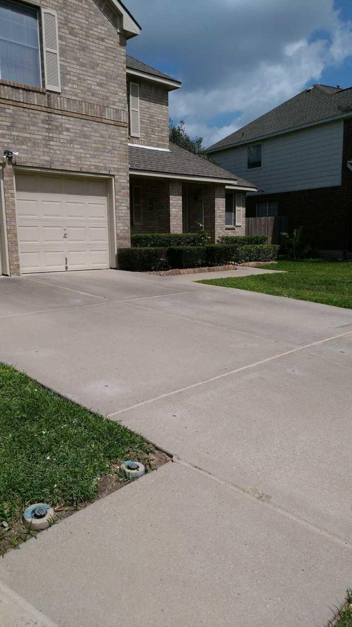 Concrete Driveway Repair in Round Rock, TX - After Photo