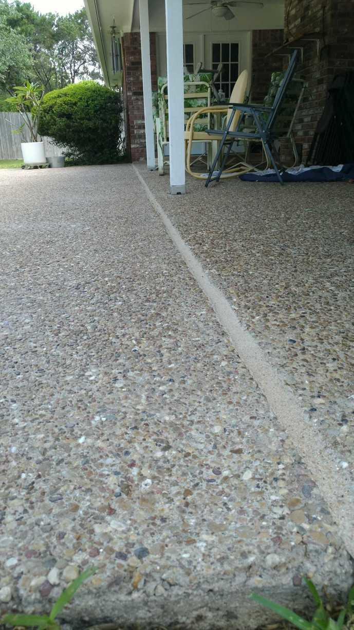 Sidewalk Repair in Crawford, TX - After Photo