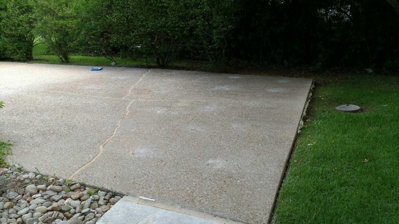 Driveway Repair in Georgetown, TX - After Photo