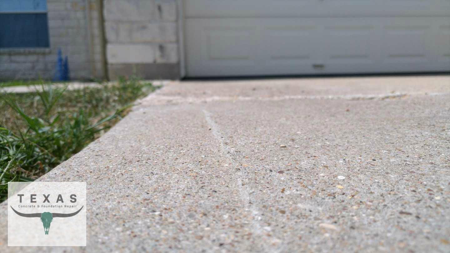 Driveway Repair in Hutto, Tx - After Photo