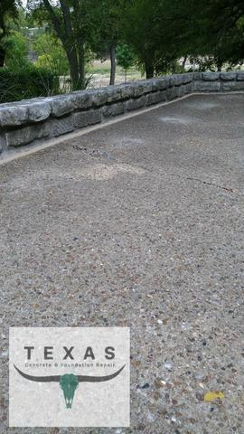 Concrete Patio Repair in Salado, Tx - After Photo