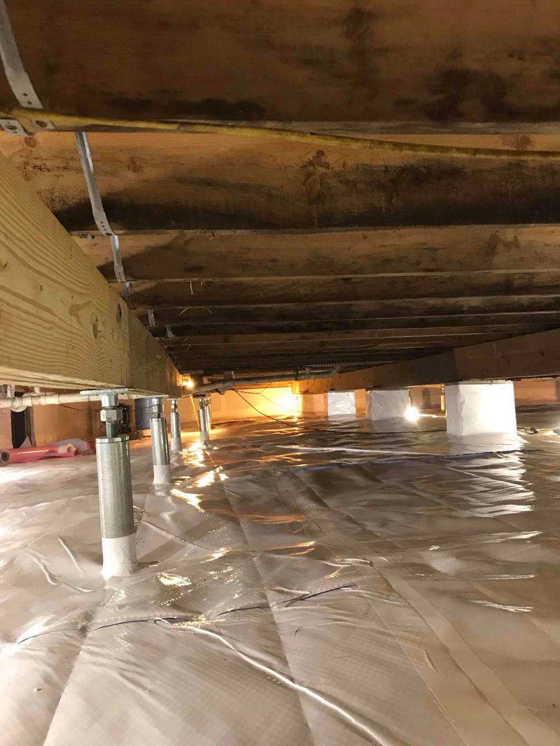 Ruckersville, VA Crawlspace and Foundation Repair - After Photo