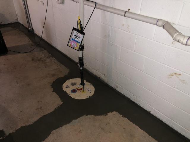 Berryville, VA Waterproofing - After Photo