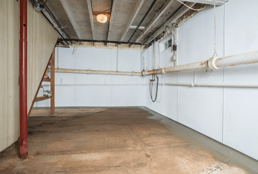 Clear Brook, VA Basement Waterproofing and Mold Remediation - After Photo
