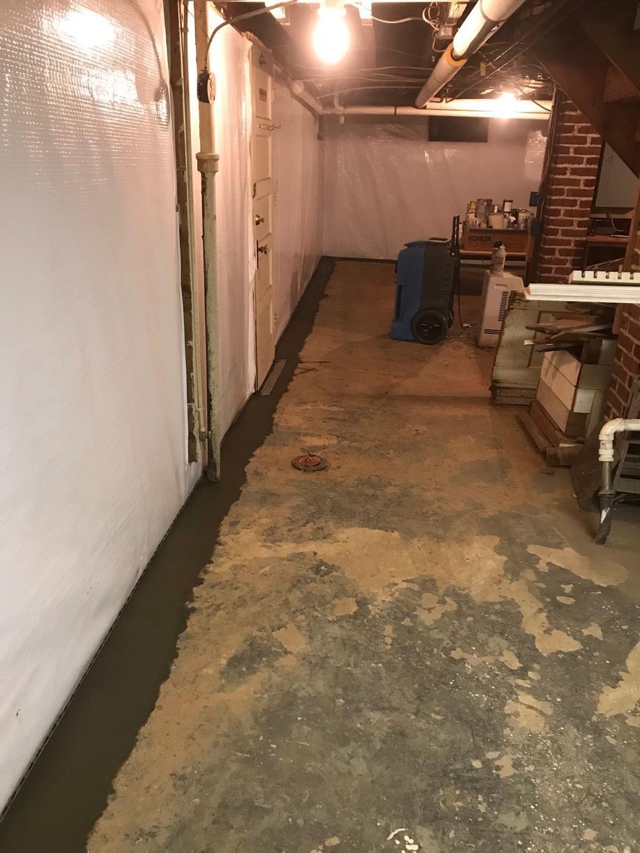 Lynchburg, VA Basement Waterproofing and Mold Remediation - After Photo