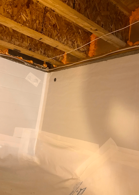 Winchester, VA Crawlspace Waterproofing - After Photo