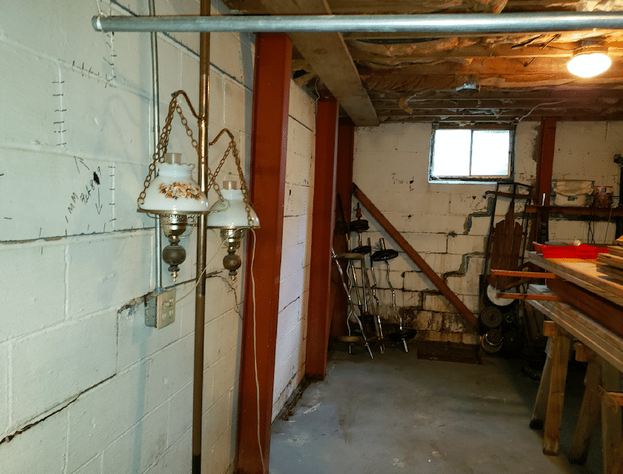 Winchester, VA Power Brace Installation - Before Photo