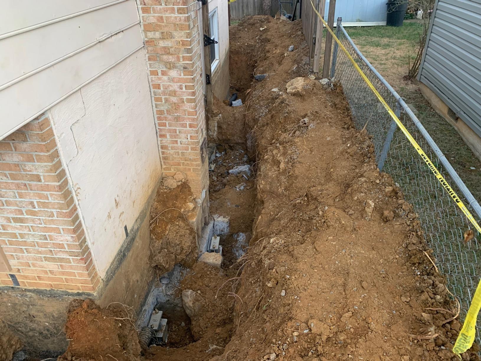 Winchester, VA Foundation Settlement - After Photo