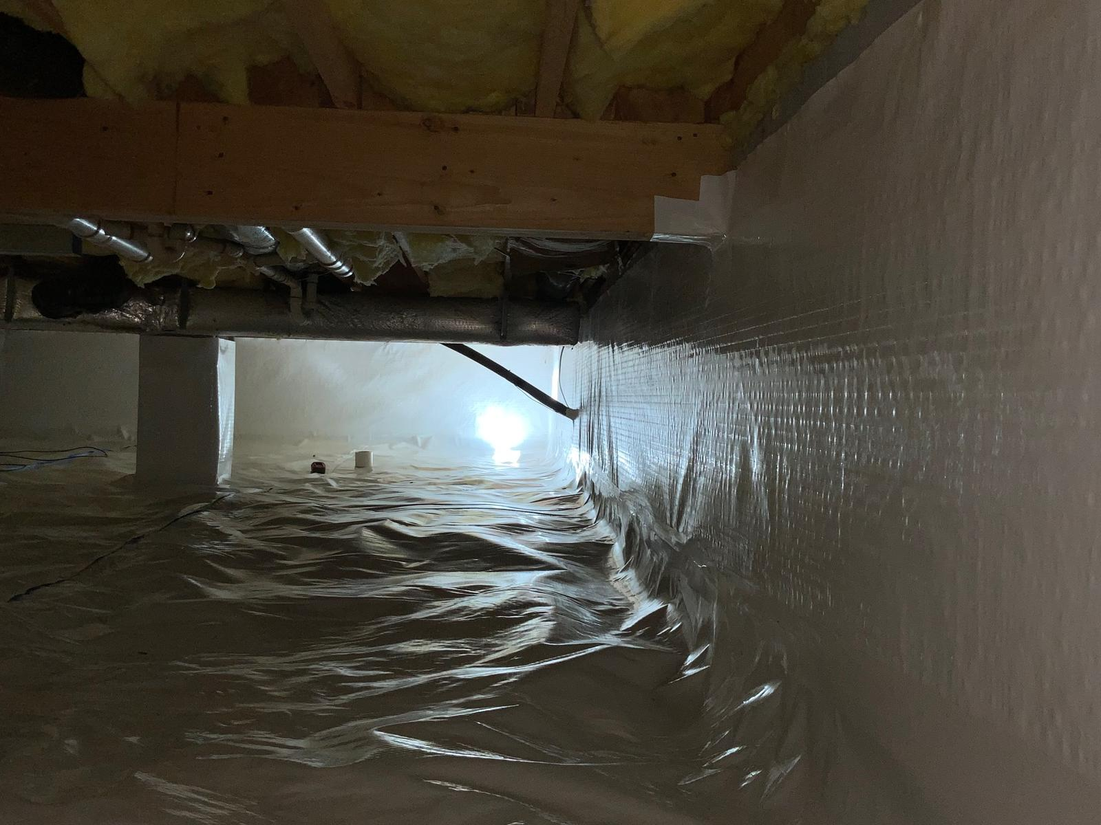 Crawlspace Encapsulation - Front Royal,VA - After Photo
