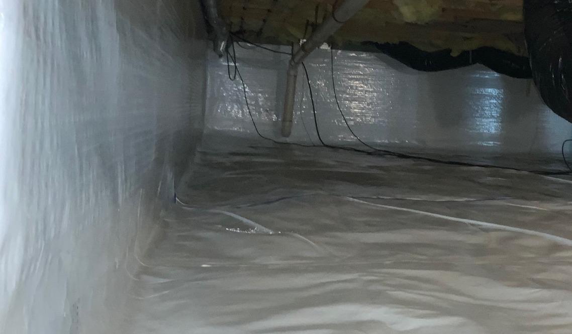 Front Royal, VA Crawl Space Encapsulation - After Photo